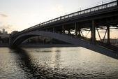 Smolensky bridge — Stock Photo