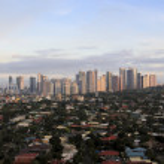 Постер, плакат: Makati skyline manila city philippines