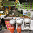 Bangkok food stall kao san road - Stock Photo