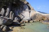 Exploring lamai beach koh samui thailand — Stock Photo
