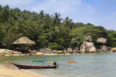 Koh tao beach resort thailand — Stockfoto