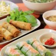 Vietnamese fresh spring rolls — Stock Photo