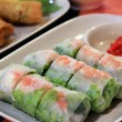 Vietnamese fresh spring rolls — Stock Photo #6400919