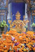 Erawan bangkok di santuario centro città — Foto Stock