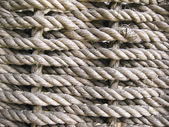 Coarse braided rope background — Stock Photo