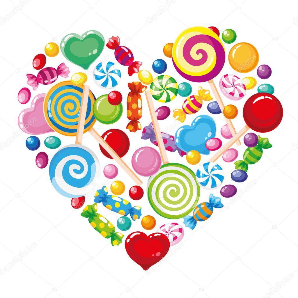 Candy Heart Clip Art