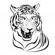 Tiger. - Stock Vector