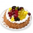 Stockfoto: Fruit cake
