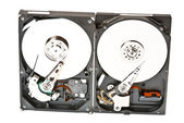 Two disks — Stock Photo