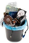 Computer trash — Stock Photo