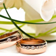 Wedding rings — Stock fotografie #5678389
