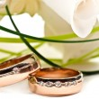 Wedding rings — Foto de stock #5678389