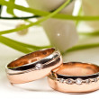 Wedding rings — Stockfoto #5678395