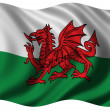 Flag of Wales — Stock Photo