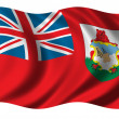 Stock Photo: Flag of Bermuda
