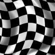 Stock Photo: Race Flag