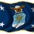 Stock Photo: SECAF flag