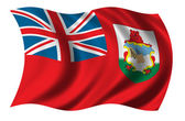 Flag of Bermuda — Stock Photo
