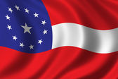 Konfederasyon bayrağı — Stok fotoğraf