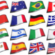 World Flags — Stok Fotoğraf #5407880