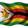 Flag of Zimbabwe — Stock fotografie