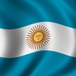 Flag of Argentina — Stock Photo #5408532