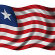 Flag of Liberia — Stock Photo #5408582