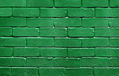Flag of Libya on brick wall — Stock Photo