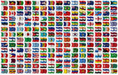 World Flags Set — Stockfoto