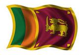 Flag of Sri Lanka — Stock Photo