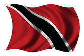 Flag of Trinidad — Stock Photo