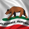 Flag of California — Photo
