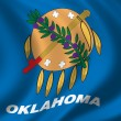 Flag of Oklahoma — Stock Photo