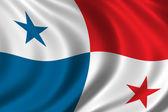 Флаг Панамы — Стоковое фото