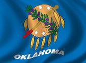 Flag of Oklahoma — Stock Photo