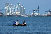 Miami seaport — Stock Photo