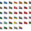Stock Photo: World Flags Set 4 of 4