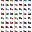 Royalty-Free Stock Photo: World Flags Set 2 of 4
