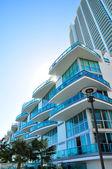 Lüks condominiums — Stok fotoğraf
