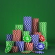 Poker background — Stockfoto