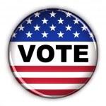 Vote button — Stock Photo #5535547