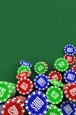 Poker chips background — Foto de Stock