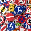 Traffic Signs — Stockfoto