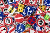 Panneaux de signalisation — Photo