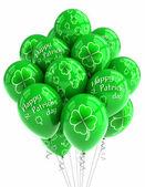 St Patricks Day balloons — Stock Photo