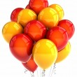 Red and yellow party ballooons — Stock Photo #5836248