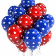 Patriotic balloons — Stock Photo #5838869