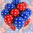 Patriotic balloons — Stock Photo #5842474