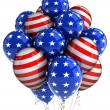Patriotic balloons — Stock Photo #5843580