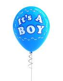 It's a boy party balloon — Stock Photo